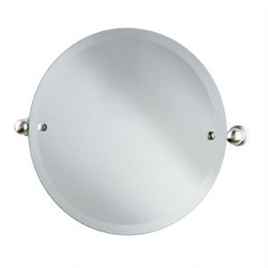 6983 Perrin & Rowe Round Mirror 500mm